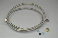 Ice maker hose, Universal fridge & freezer (us style) - 2000 mm